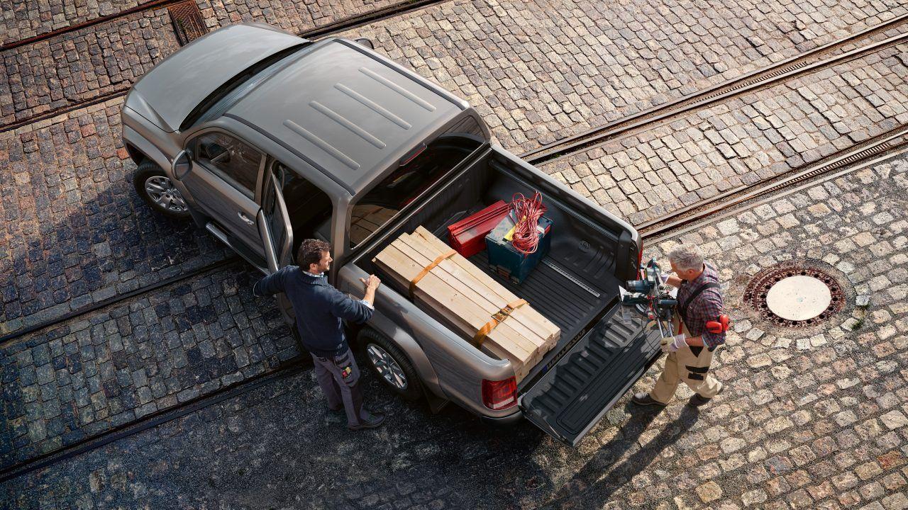 Фольксваген Амарок фото сверху