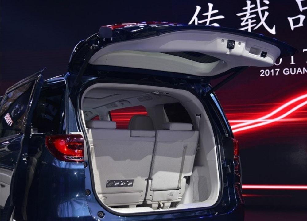 GAC Trumpchi GM8 багажник