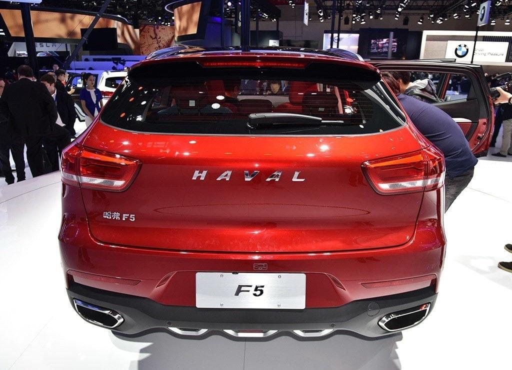 Haval F5 вид сзади
