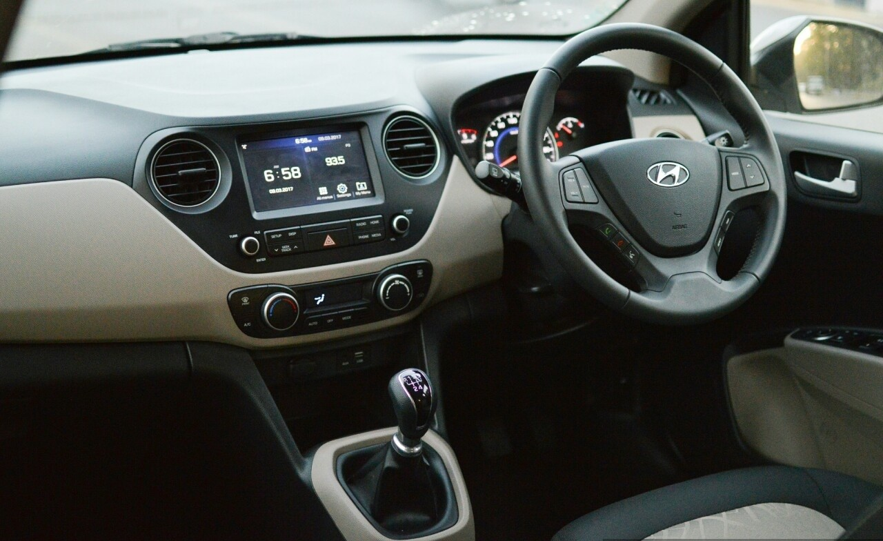 Hyundai Grand i10 фото салон