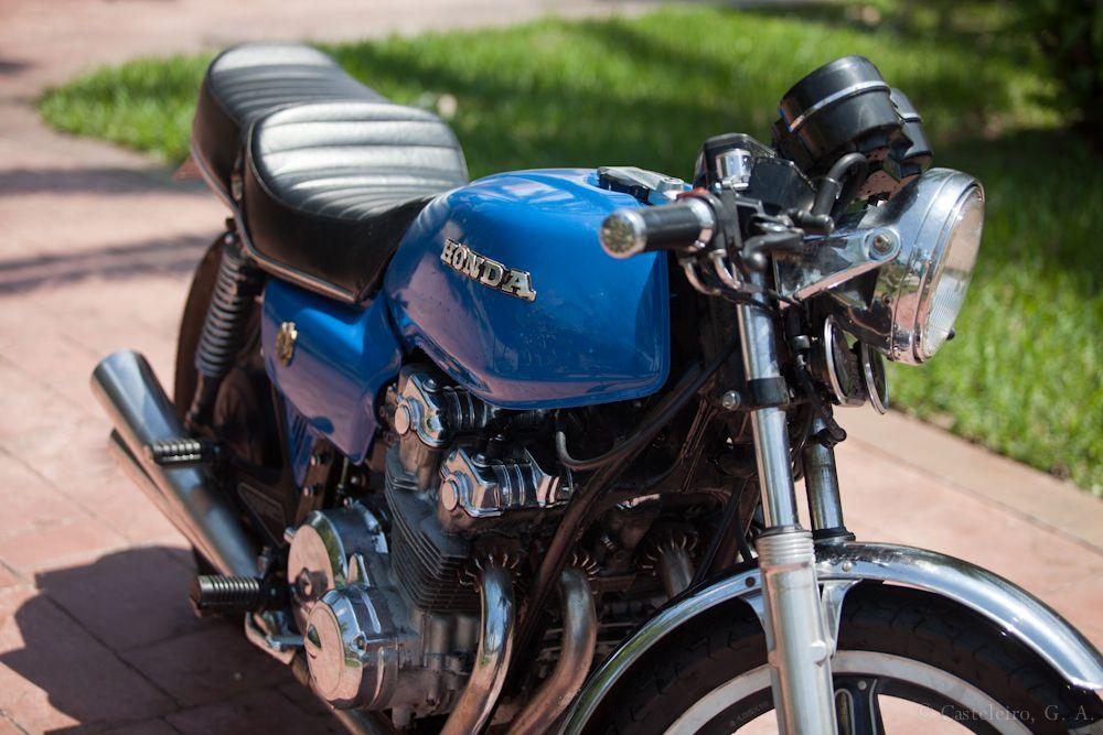 Honda CB750 фото спереди