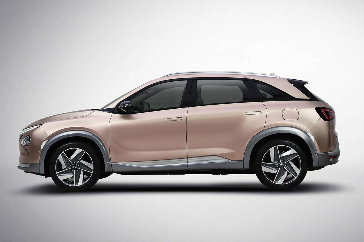 Hyundai FCEV вид сбоку