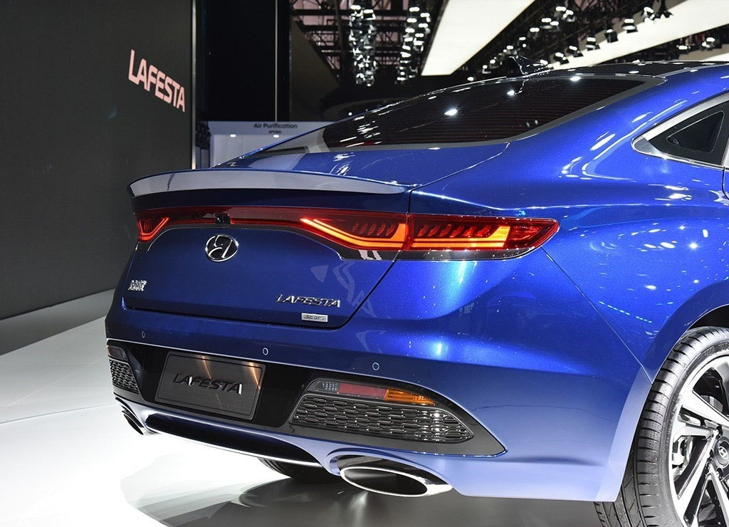 Hyundai Lafesta бампер