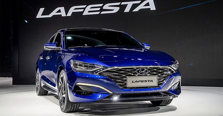 Hyundai Lafesta фото