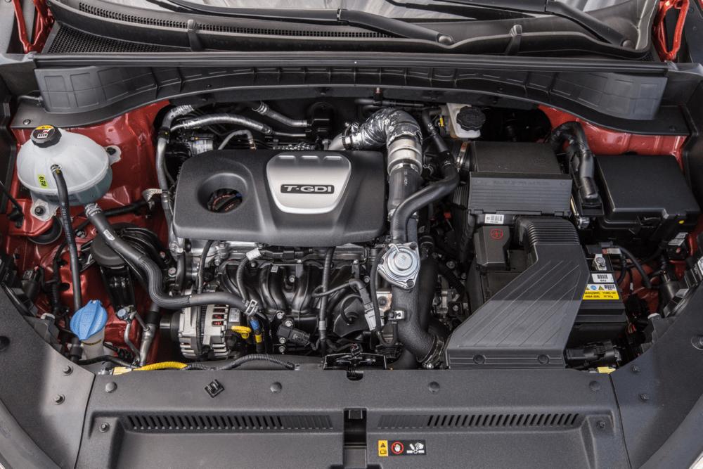 Hyundai Tucson новинка 2018 фото двигатель