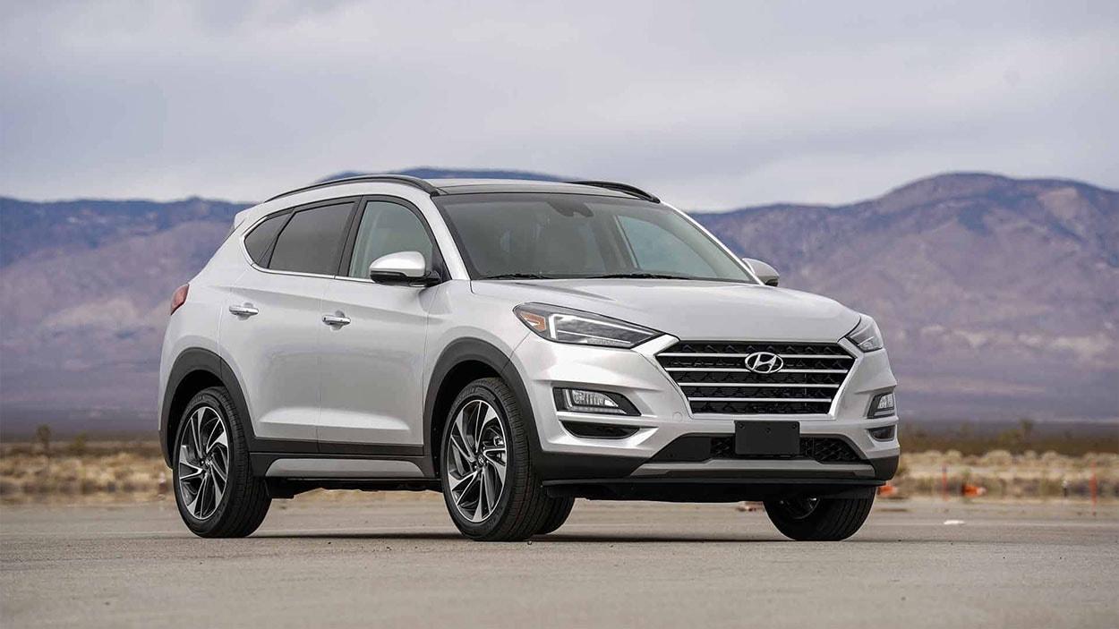 Hyundai Tucson новинка 2018 фото общий вид