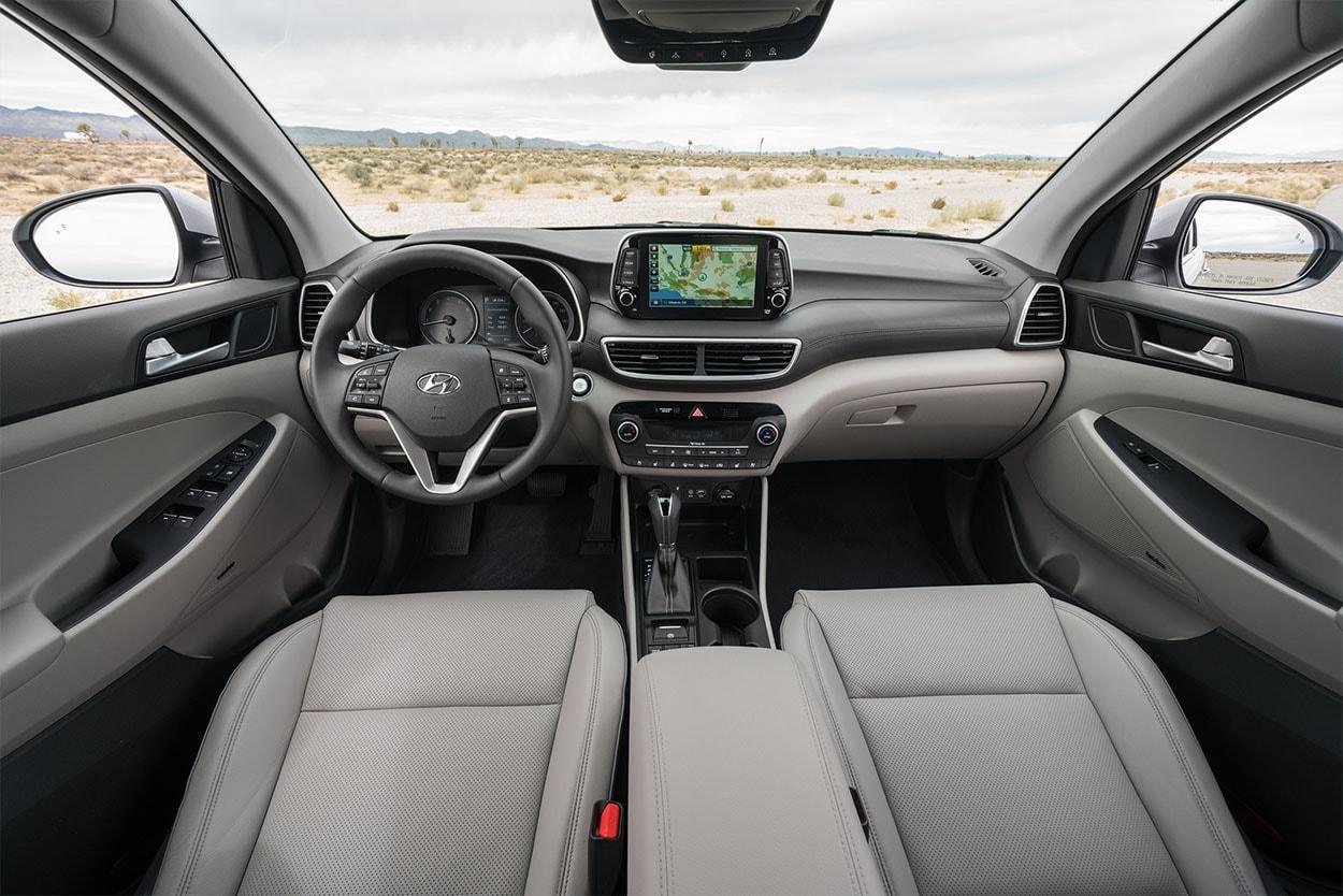 Hyundai Tucson новинка 2018 фото салон
