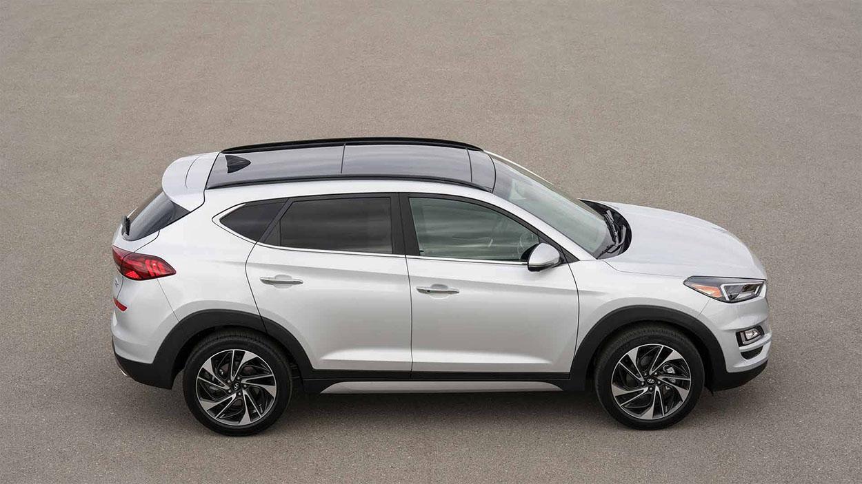 Hyundai Tucson новинка 2018 фото вид сбоку