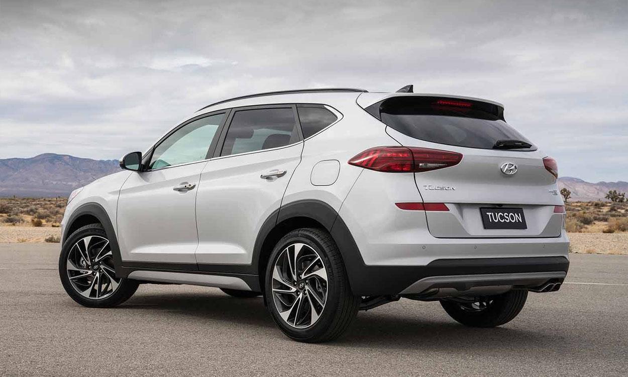 Hyundai Tucson новинка 2018 фото вид сзади