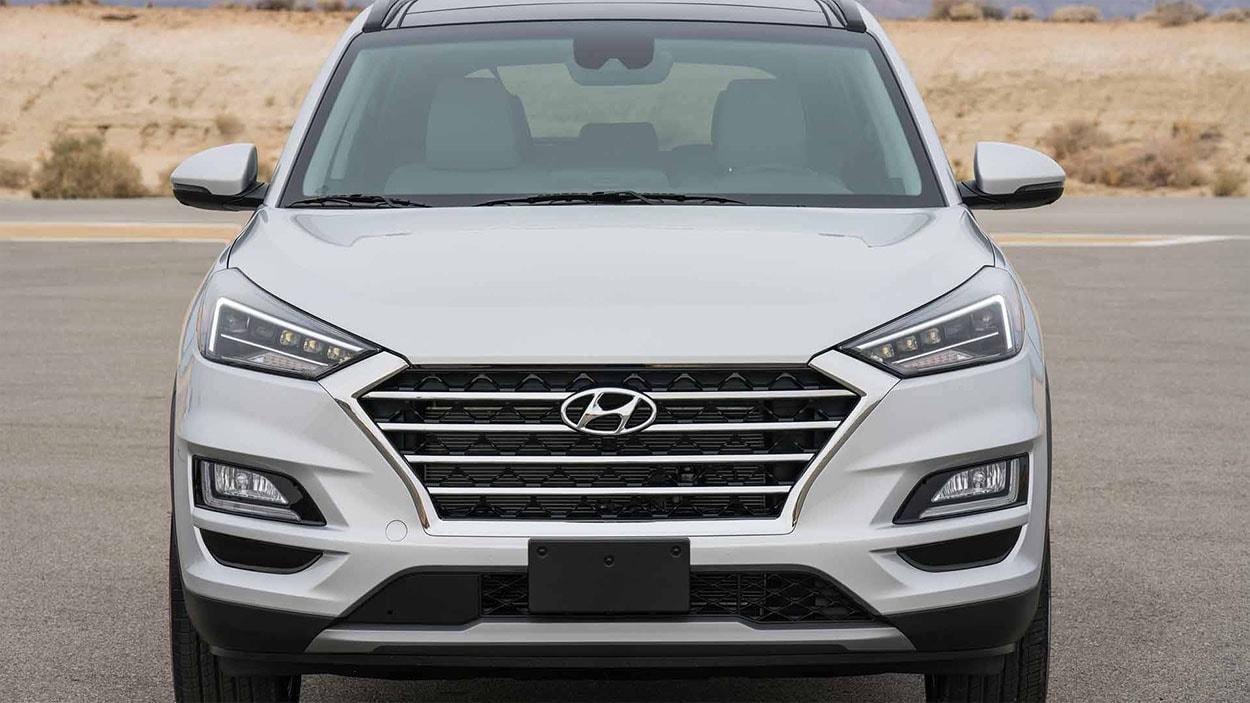 Hyundai Tucson новинка 2018 фото вид спереди