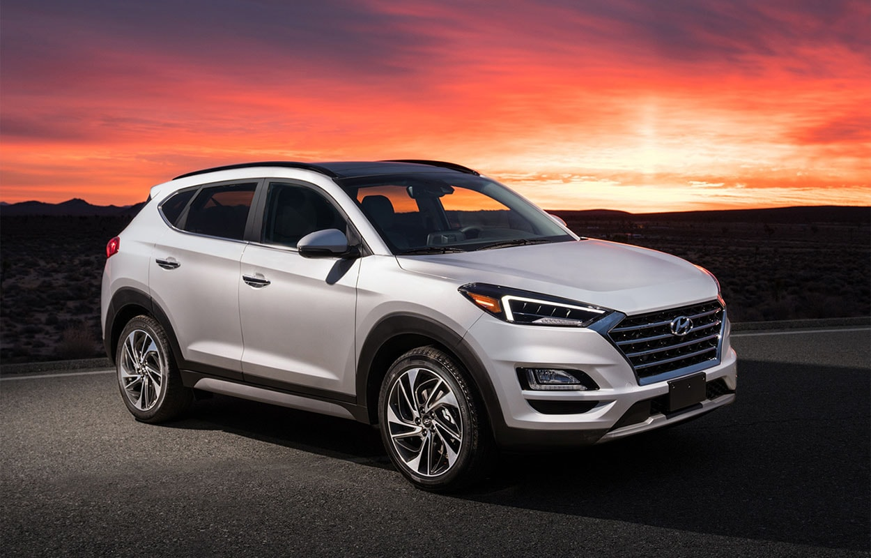 Hyundai Tucson новинка 2018 фото