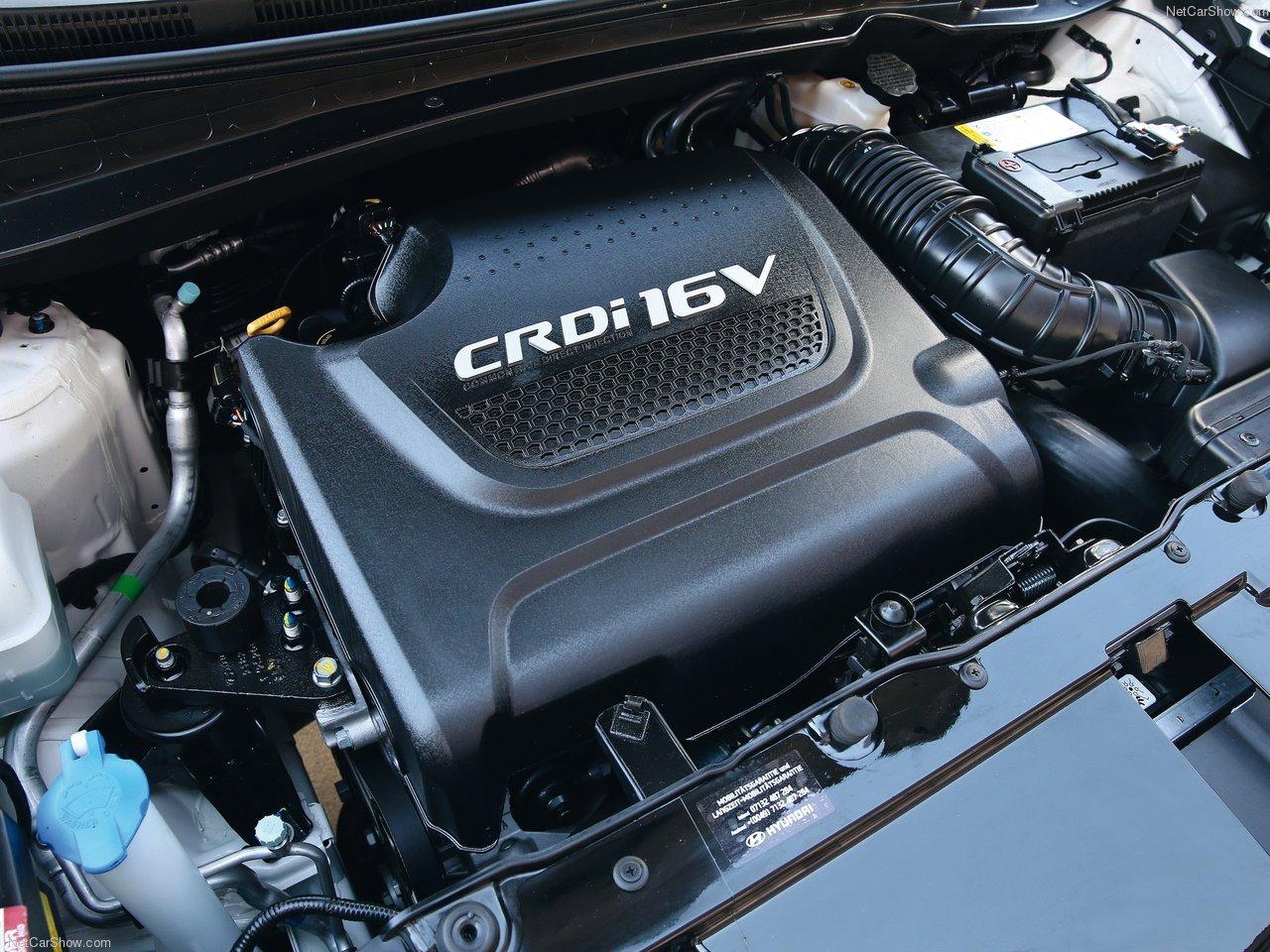 Hyundai ix35 фото двигатель