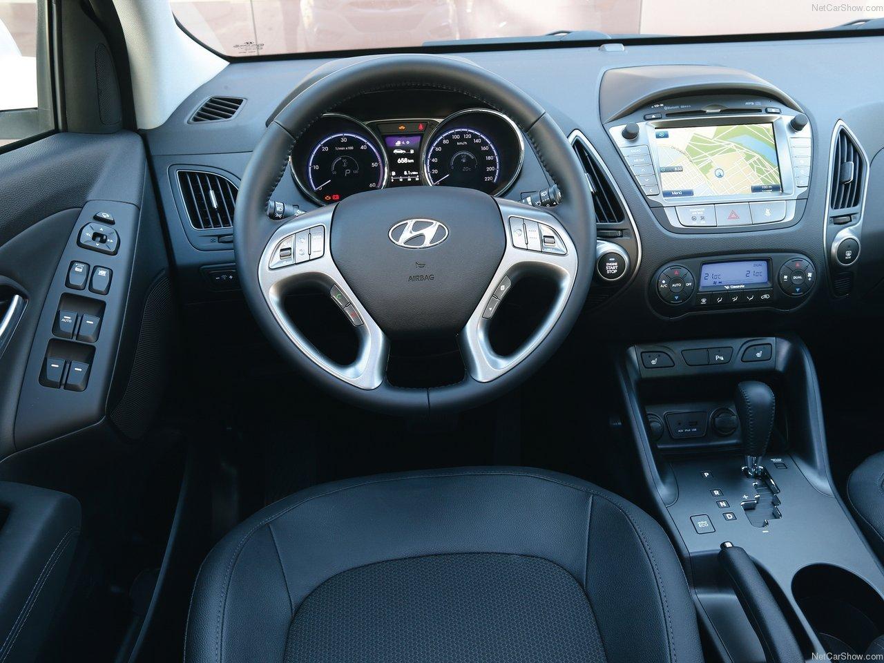Hyundai ix35 фото салон
