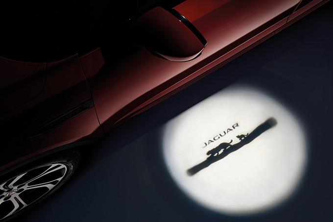 Jaguar E-Pace подсветка дверей