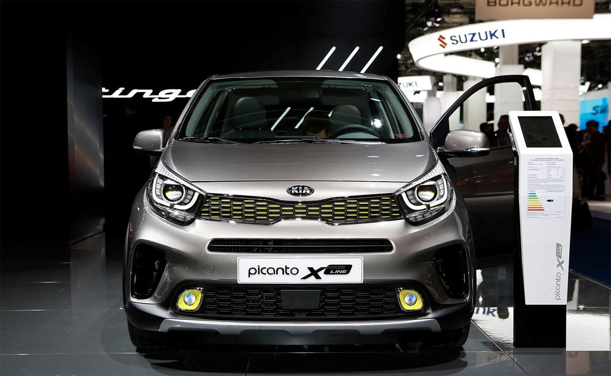 Kia Picanto X-Line фото бампера