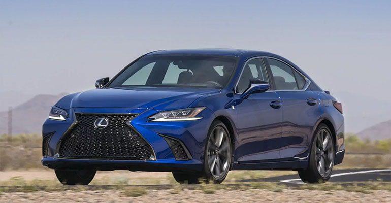 Lexus ES фото