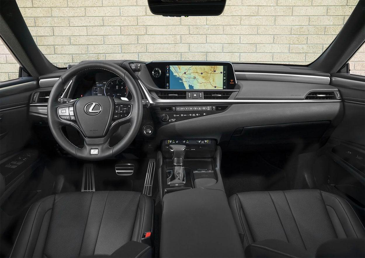 Lexus ES вид салон