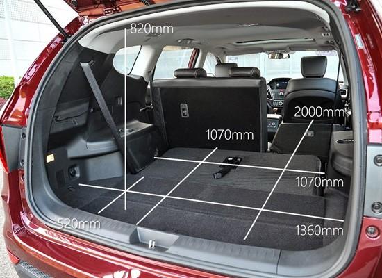 Lifan X80 фото размеры багажника