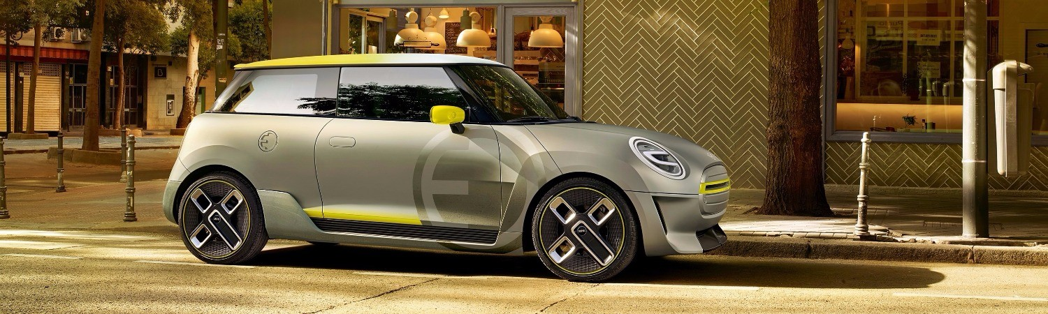 MINI Electric Concept сбоку