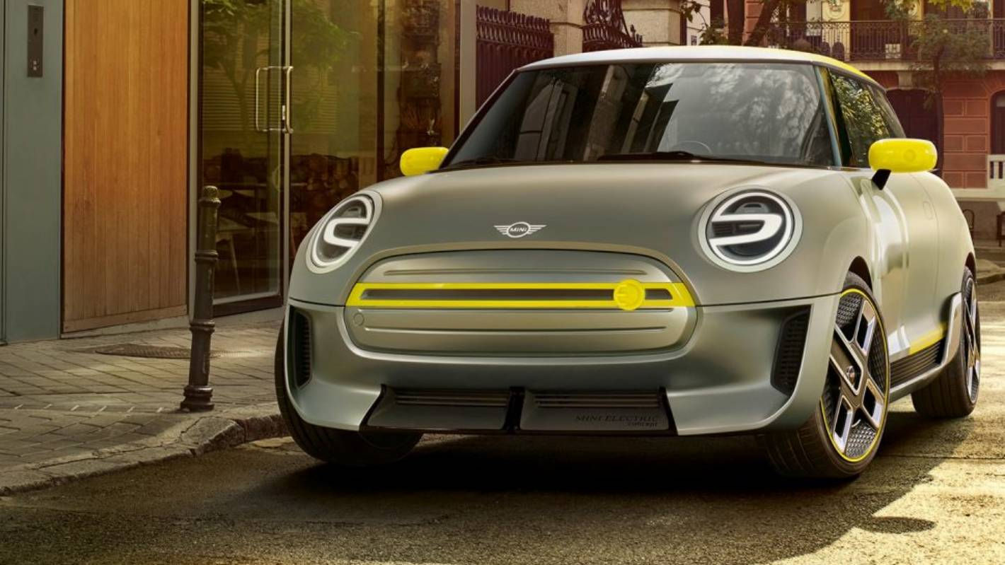 MINI Electric Concept спереди