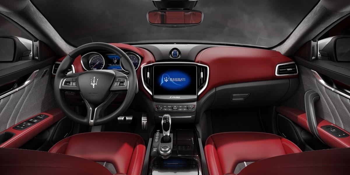 Maserati Ghibli 2017 салон