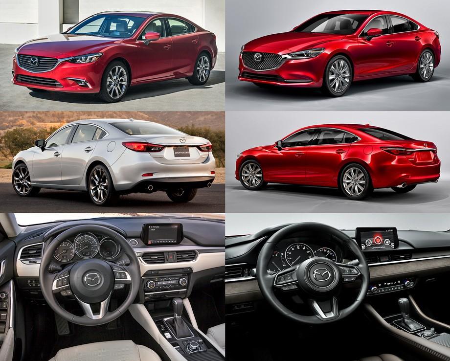 Mazda 6 фото было стало
