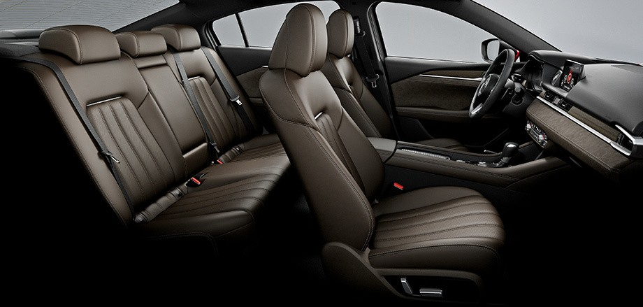 Mazda 6 фото сидений