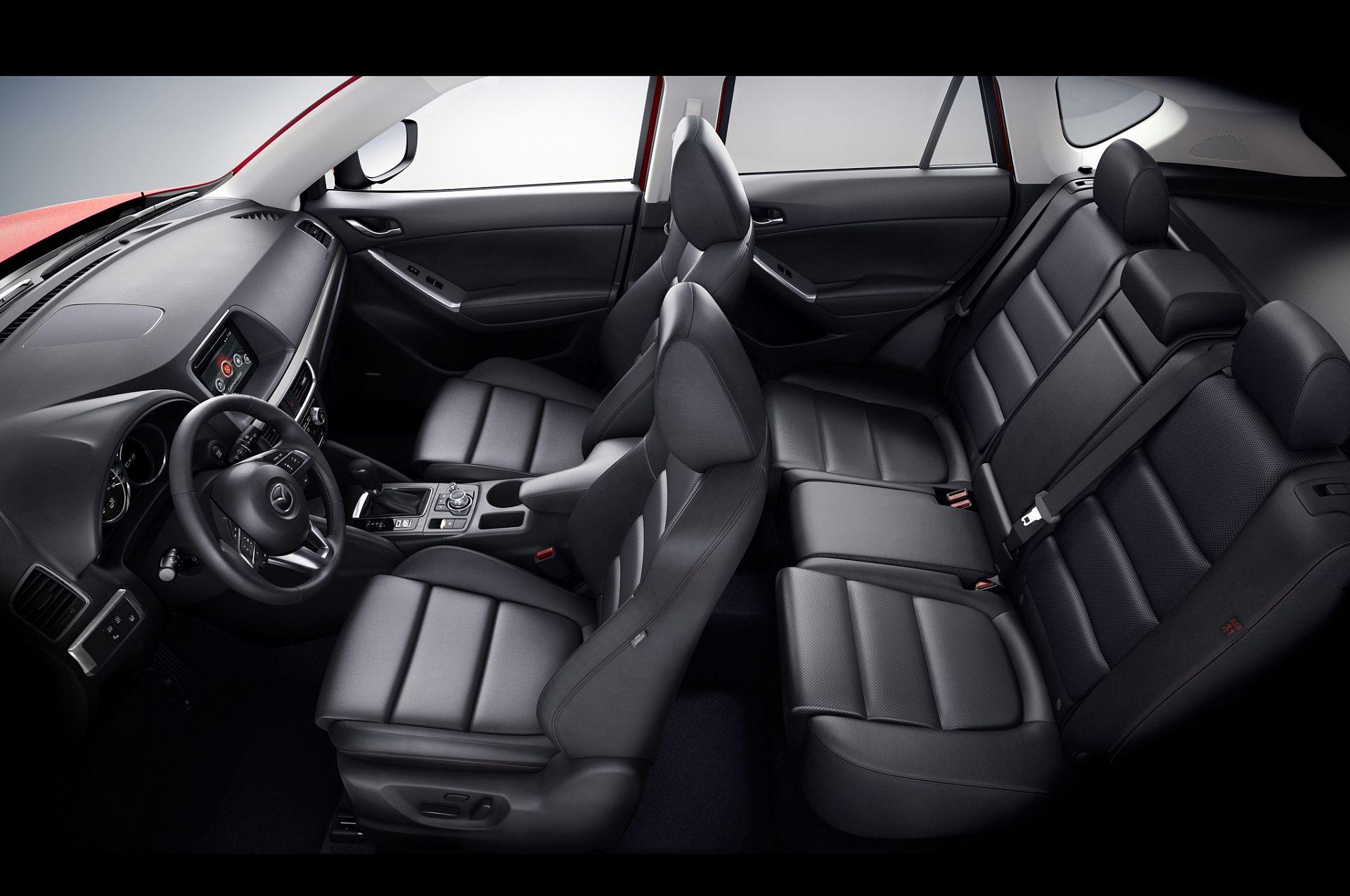Mazda CX-5 2017 вид салон
