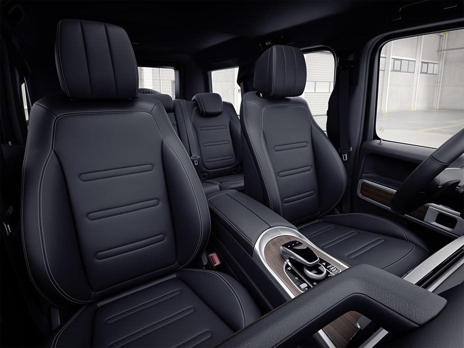 Mercedes-Benz G-class фото передних сидений
