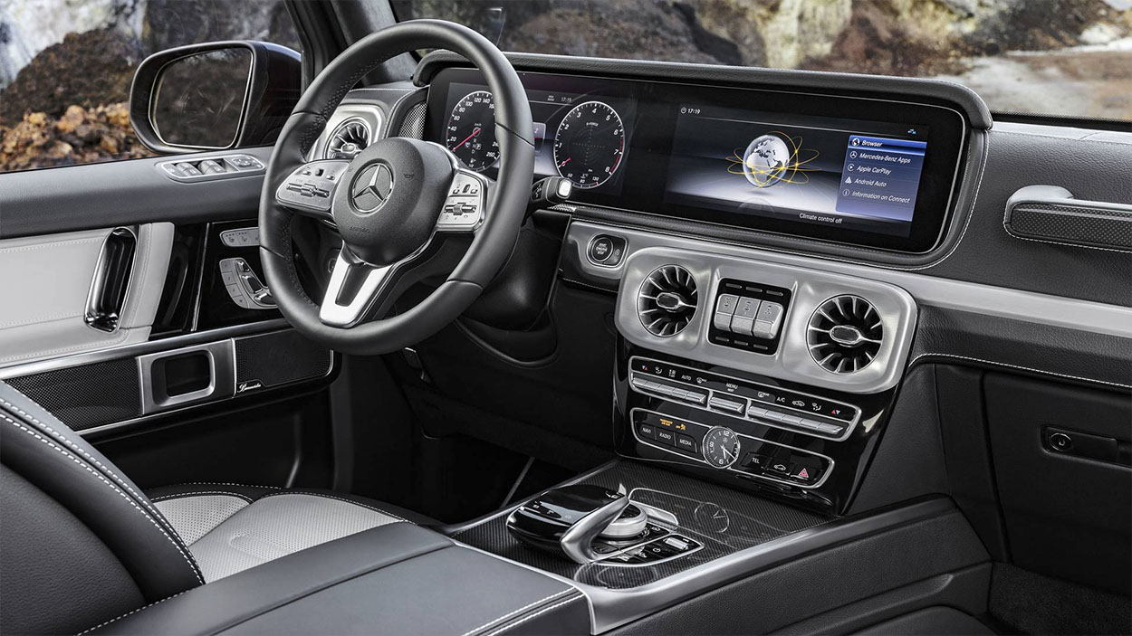 Mercedes-Benz G-class фото салона
