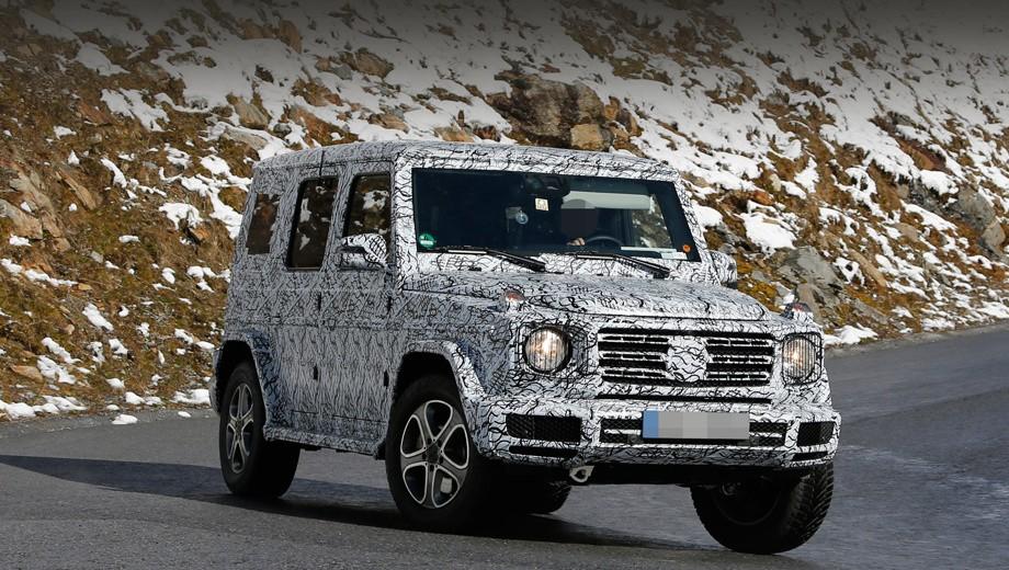 Mercedes-Benz G-class фото спереди