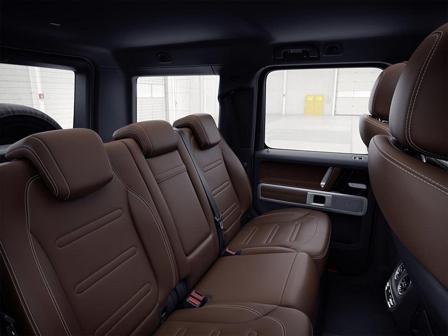 Mercedes-Benz G-class фото задних сидений
