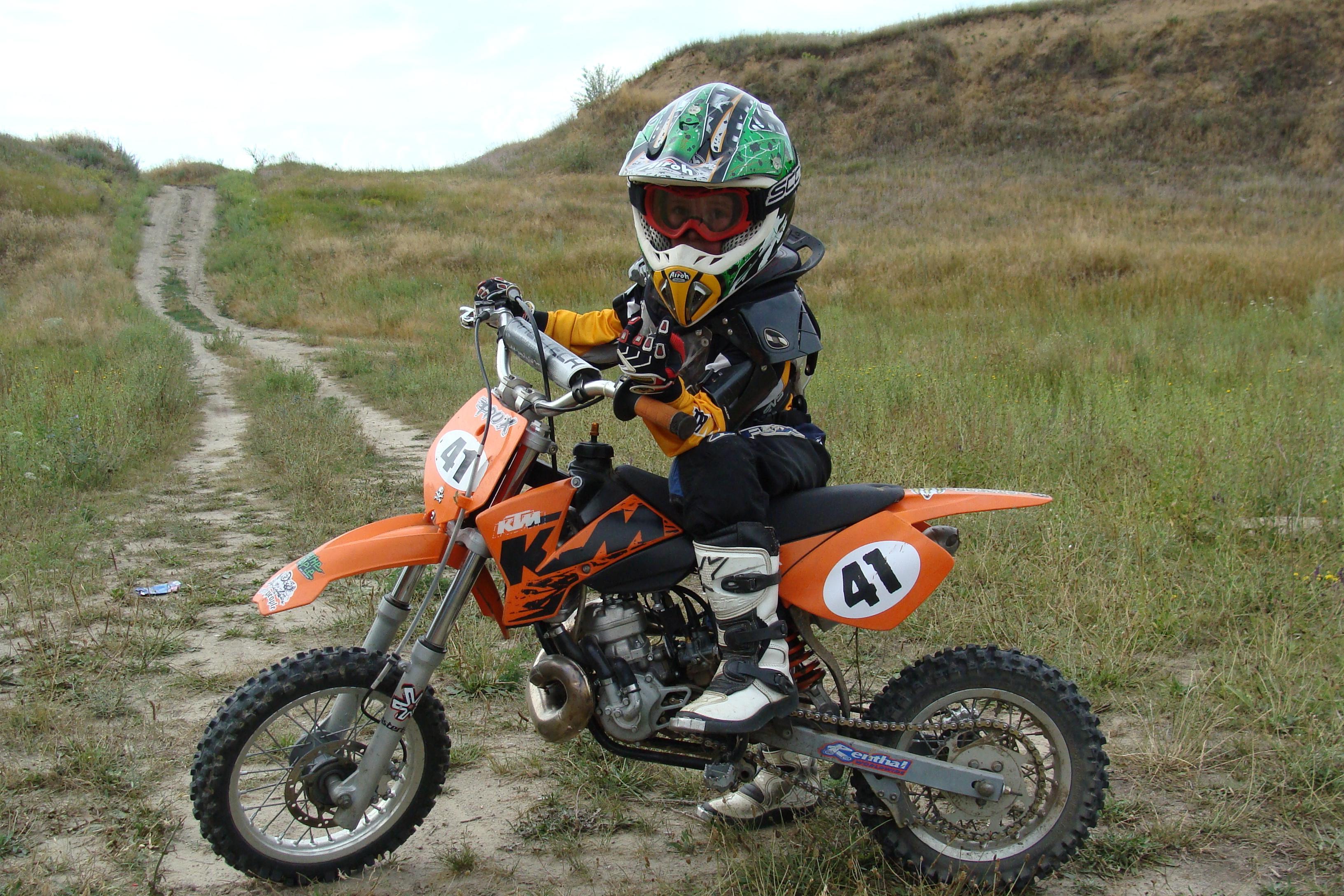 Первый класс кроссовых мотоциклов называется Mini