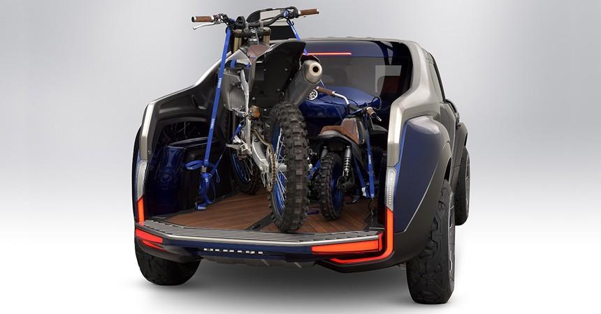 Пикап Yamaha Cross Hub фото багажник