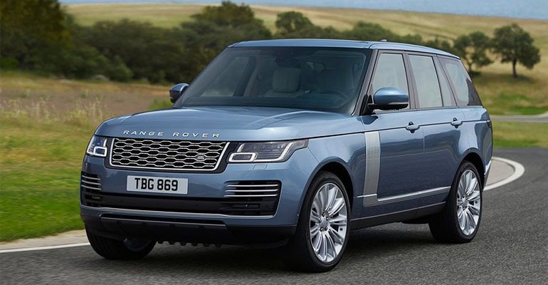 Range Rover 2018 фото общй вид