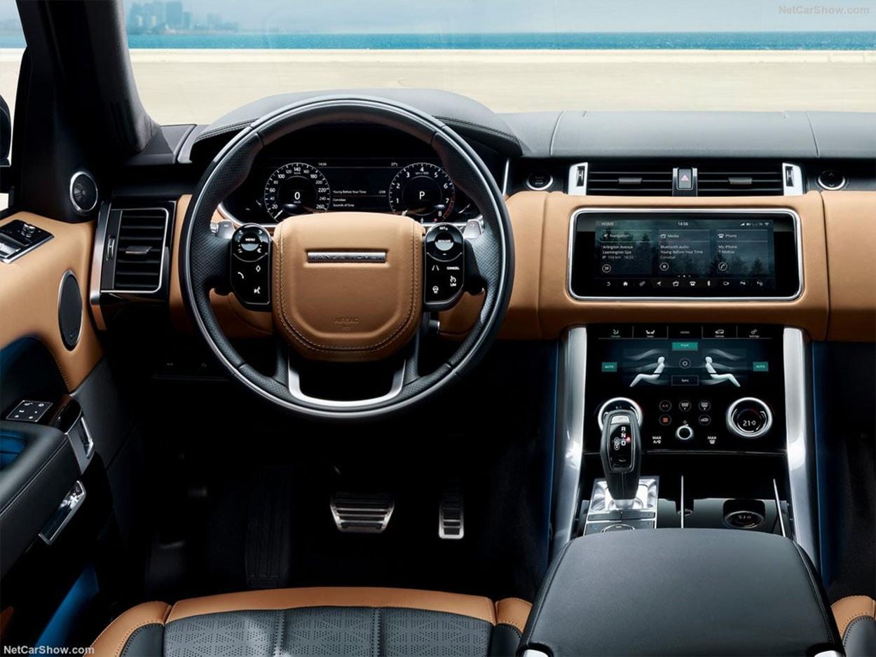 Range Rover 2018 фото салона