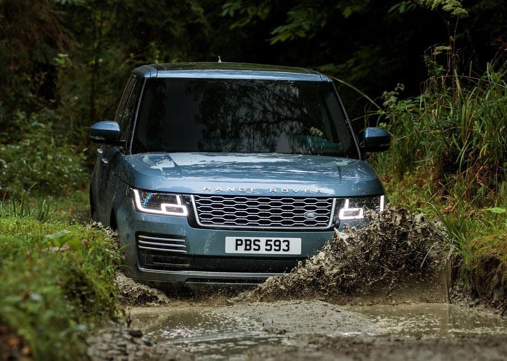 Range Rover 2018 вид спереди фото