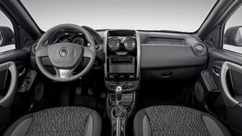 Renault Duster Oroch салон