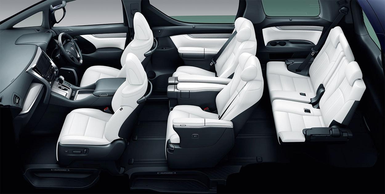 Toyota Alphard фото салона