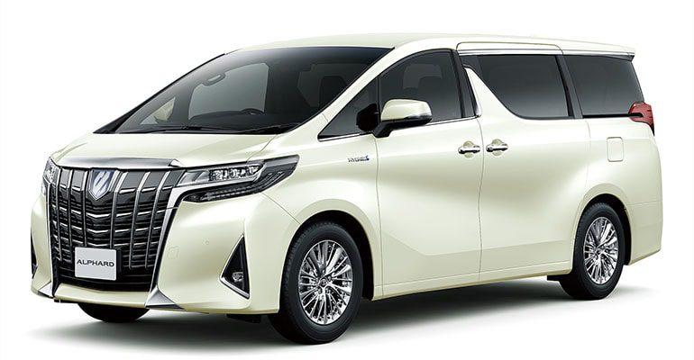 Toyota Alphard фото вид сбоку