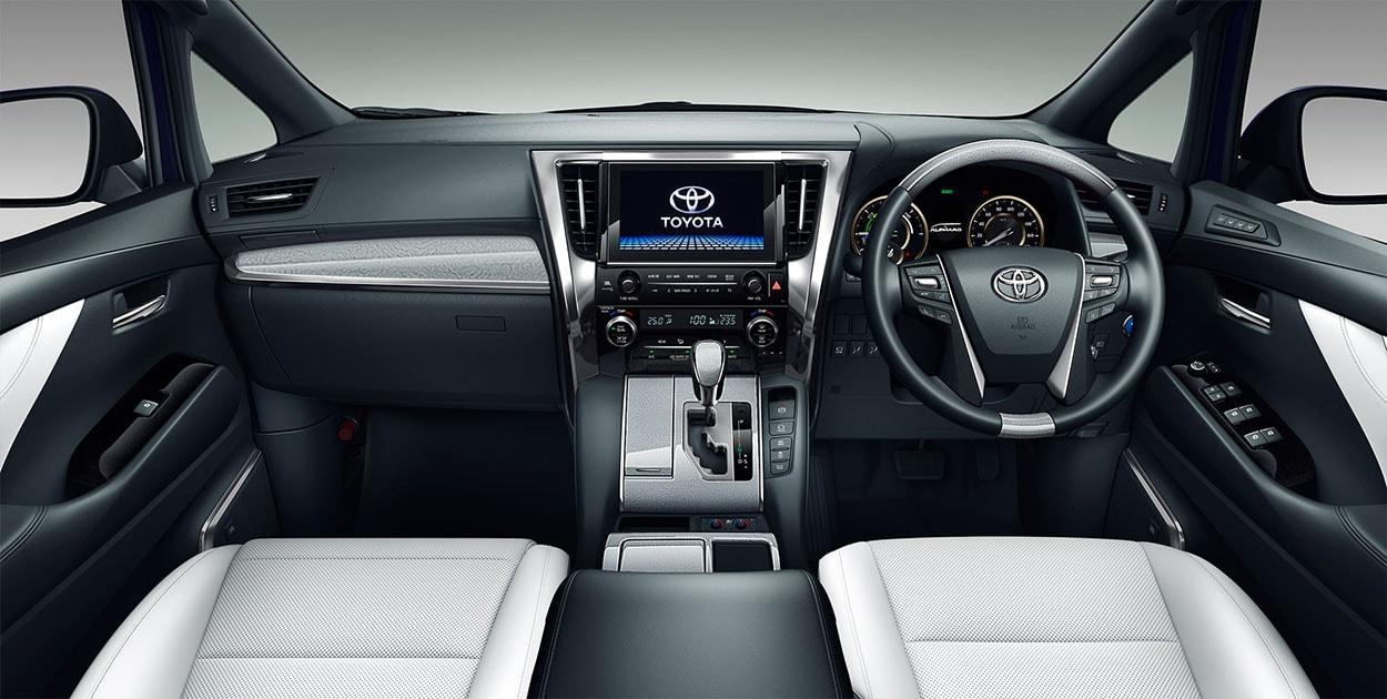 Toyota Alphard и Toyota Vellfire фото панели