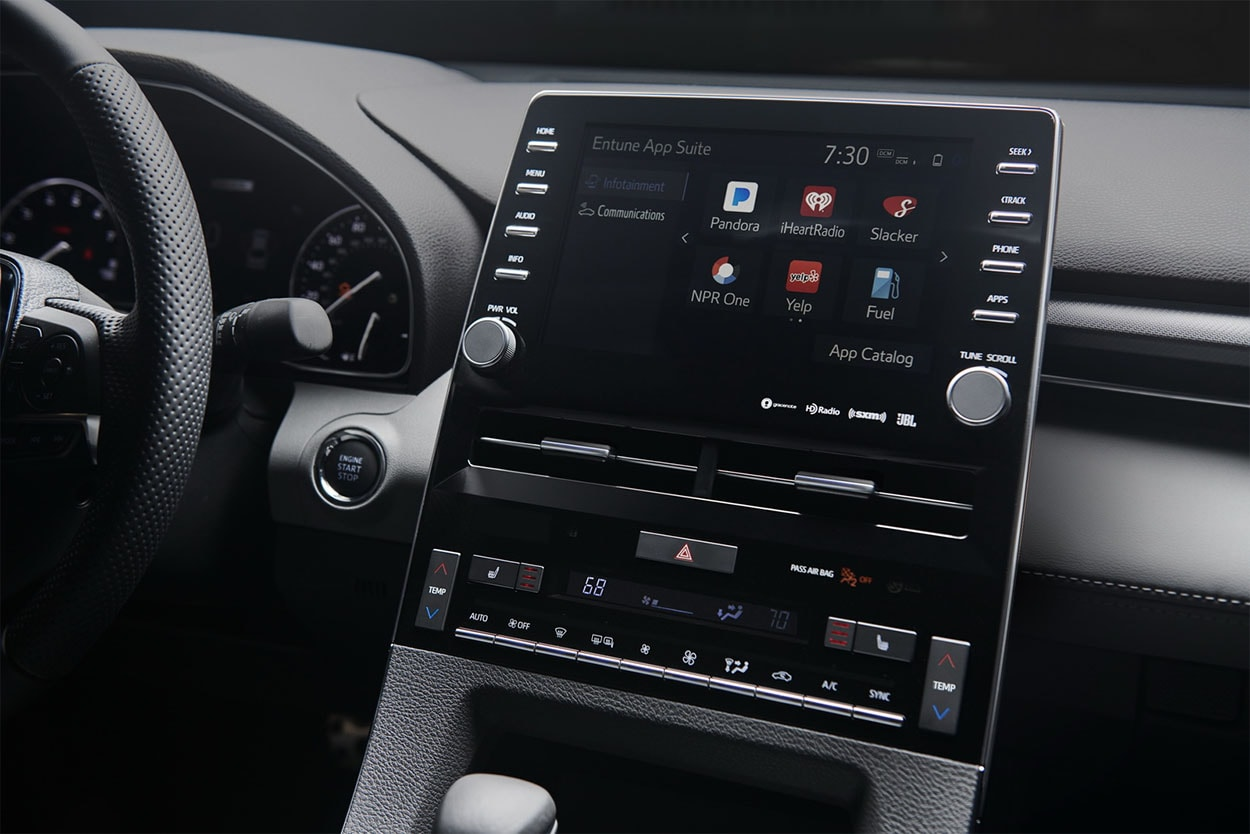 Toyota Avalon мультимедиа