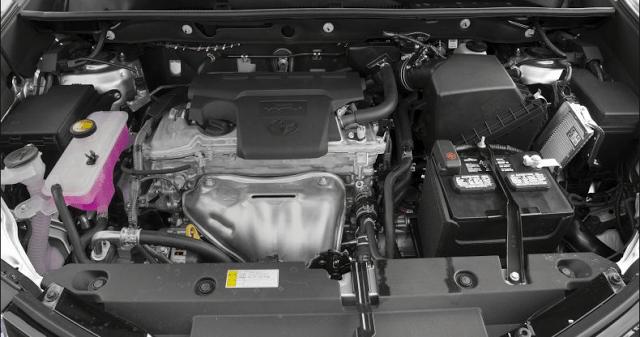Toyota Rush фото двигатель