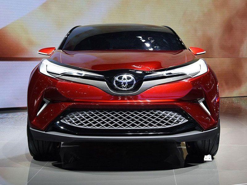Toyota Way вид спереди