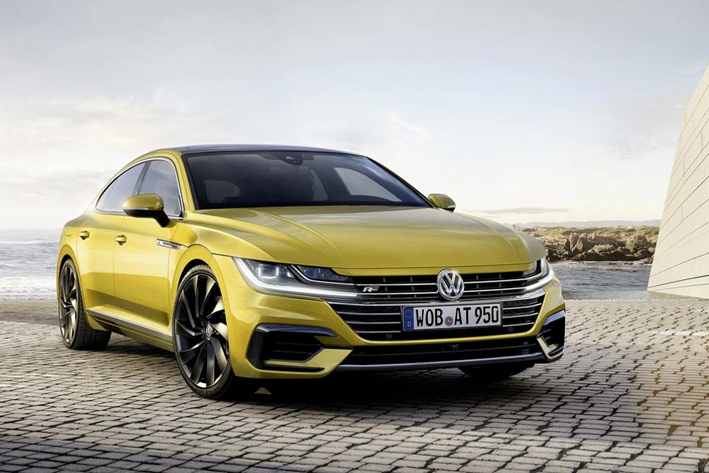 Volkswagen Arteon фото фото общий вид