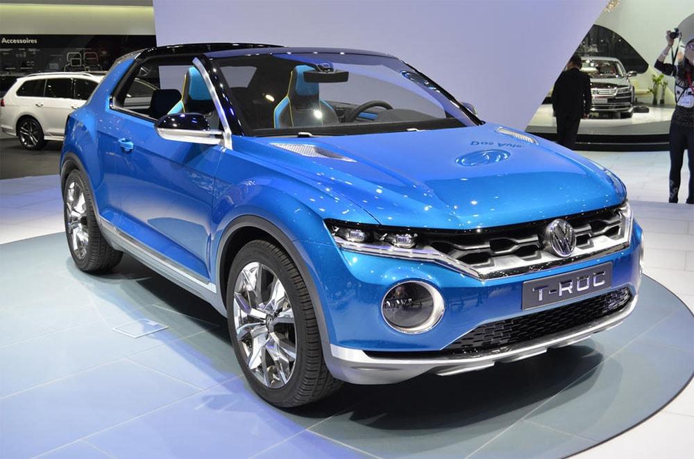 Volkswagen T-Roc фото спереди