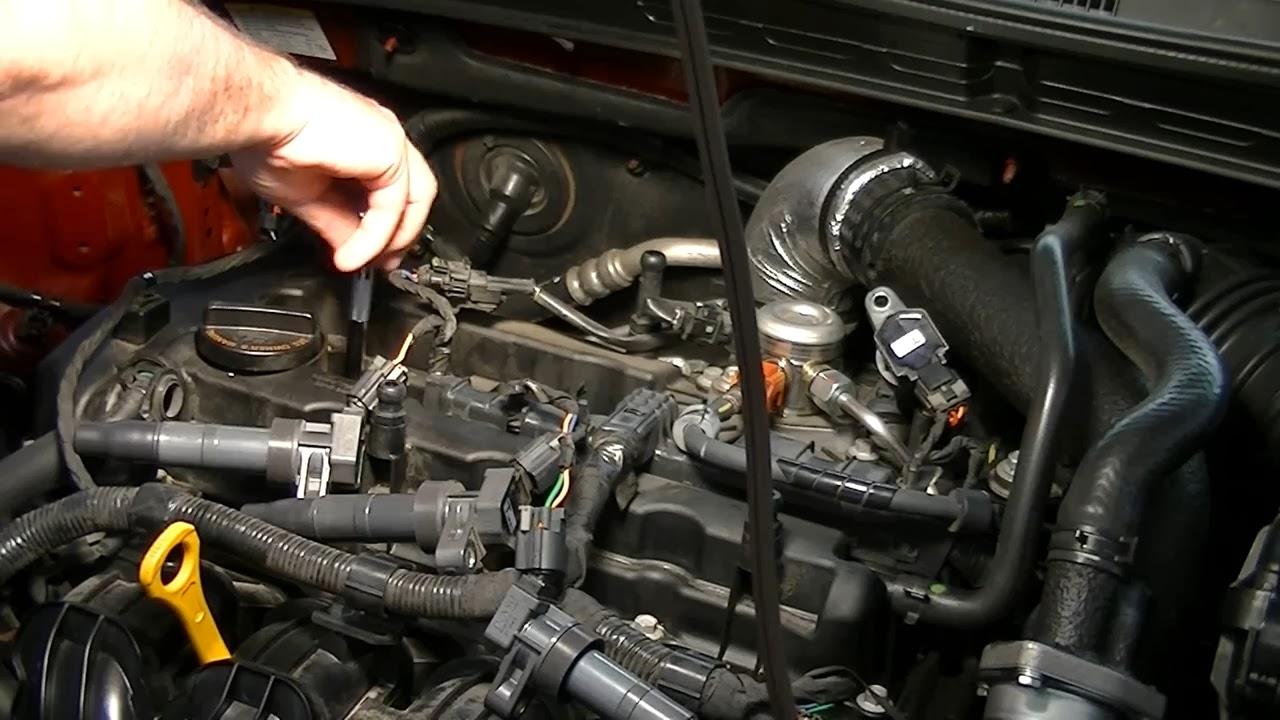 Замена свечей на Hyundai Solaris инструкция