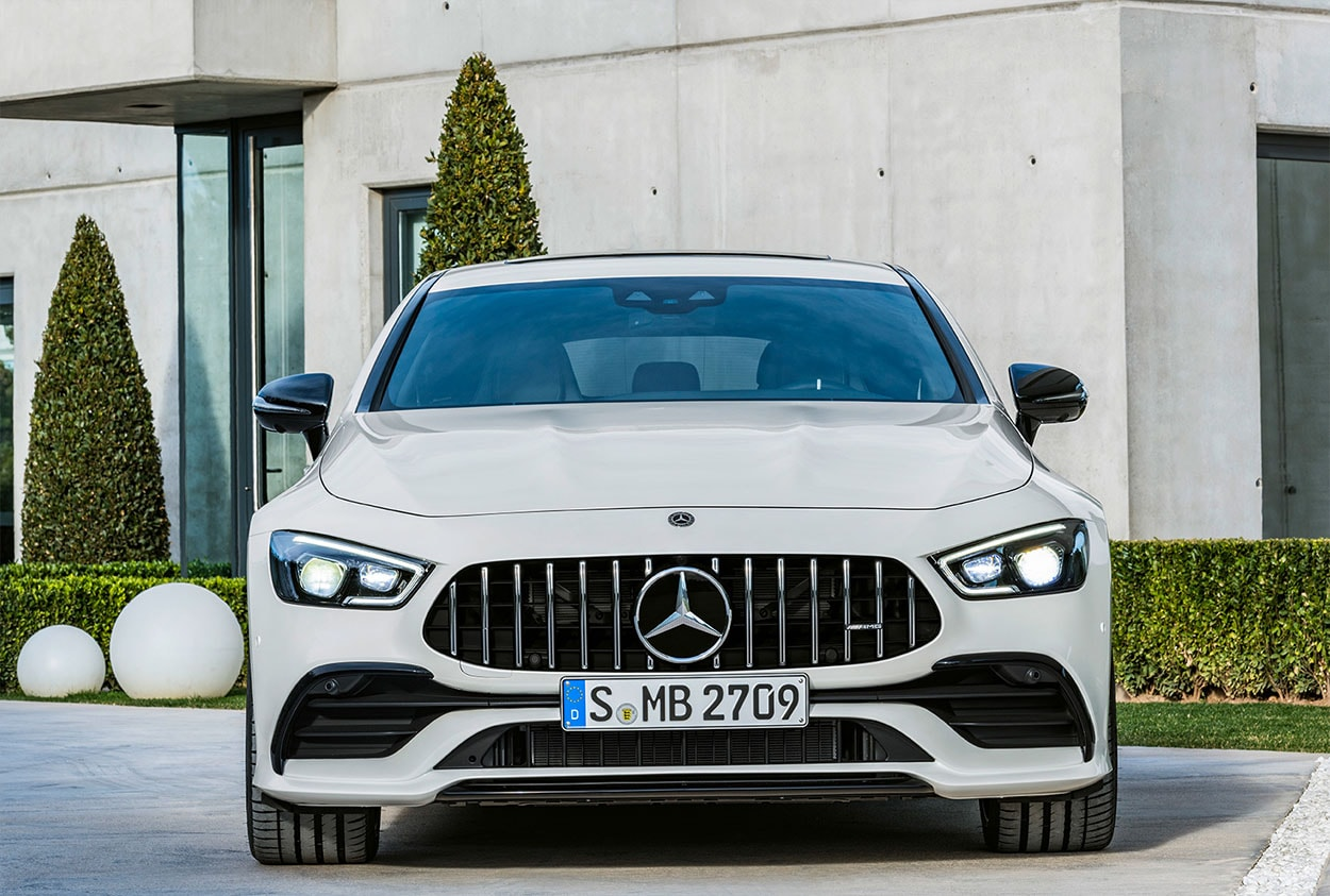 mercedes amg gt 4 door coupe фото спереди