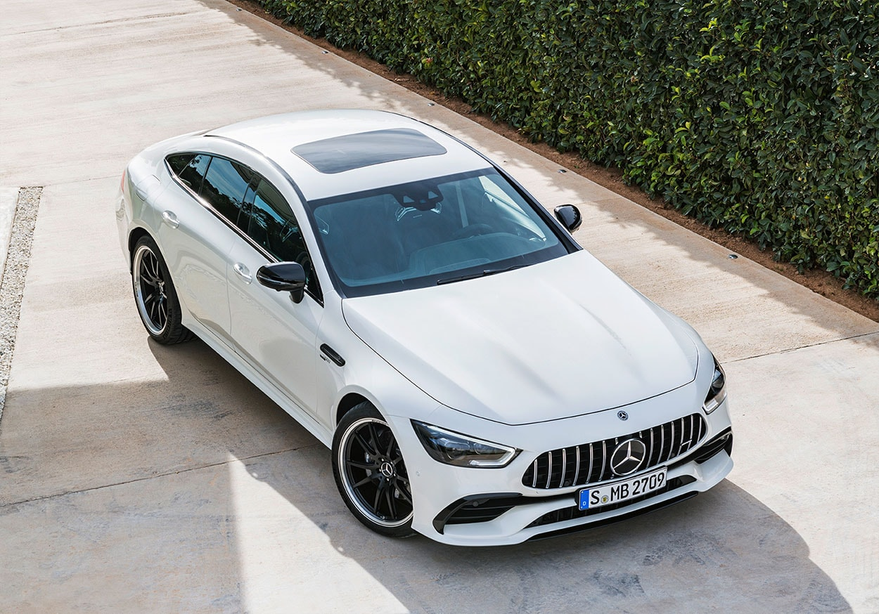 mercedes amg gt 4 door coupe фото сверху
