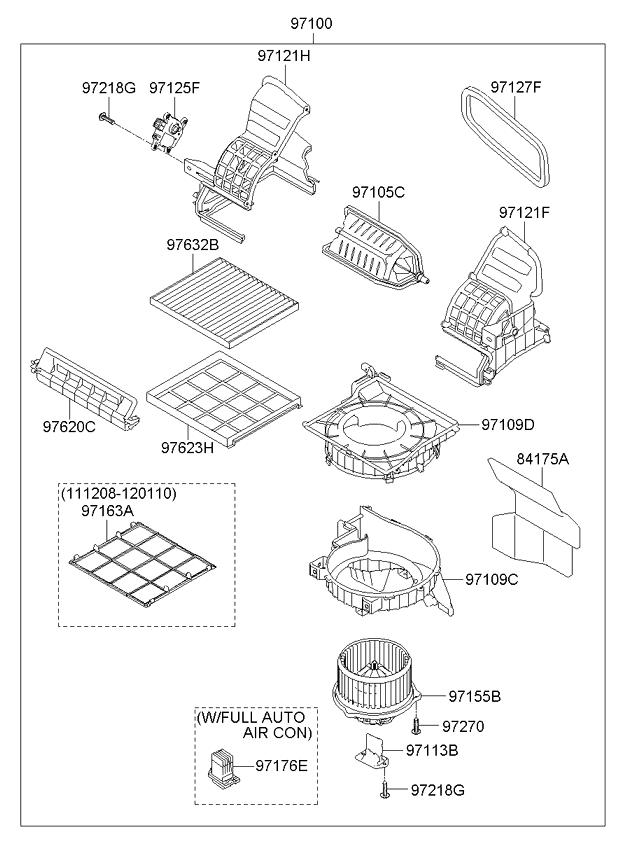 алонный фильтр солярис схема